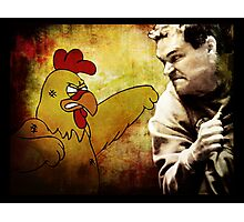 Chicken... Gave Tyrol a bad... coupon Photographic Print