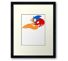 Team Sonic Framed Print