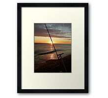 Angler's dawn at Cley Framed Print