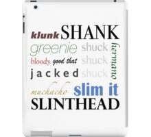 The Maze Runner Slang iPad Case/Skin