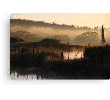 Over The Road..... Canvas Print