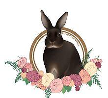 Silver Marten Rabbit by liarakcrane