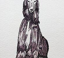 Afghan Hound by LauraCaldwell