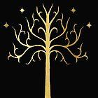 golden tree of Gondor by Audrey Metcalf