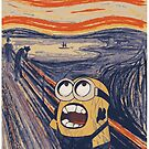 minion munch - the scream by kennypepermans