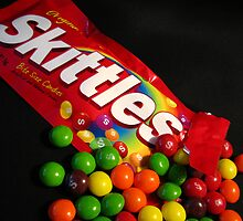 Skittles-A Tribute to Andy Warhol by Brad Sumner