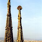 La Sagrada Familia by Joumana Medlej