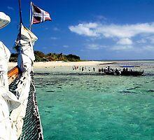 mystery island Fiji by Jeffrey  Sinnock