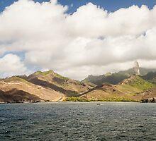 Hakahau Airport - French Polynesia by Robert Kelch, M.D.