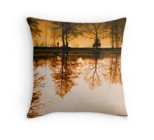 Dream of the trees Throw Pillow