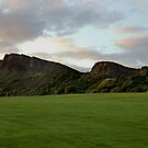 Arthur Seat and Salisbury Crags by Chris Clark