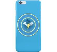 Wonderboltz - Royal Equestrian Air Force iPhone Case/Skin