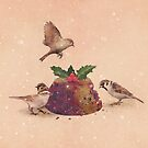 Christmas Pudding Raid  by Terry  Fan