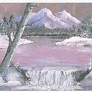 LAVENDER LAKE by francelle  huffman