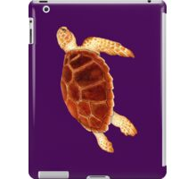 Loggerhead Sea Turtle iPad Case/Skin