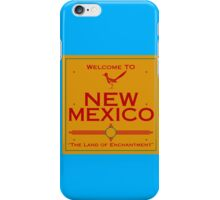 Breaking Bad Welcome to New Mexico Road Sign iPhone Case/Skin