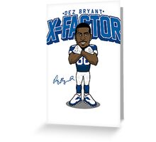 VICTRS - X-Factor Pro-Toon Greeting Card