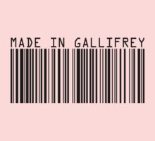 Made In Gallifrey Kids Clothes