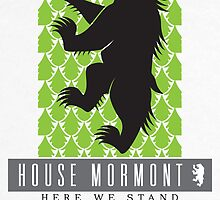House Mormont Sigil by P3RF3KT