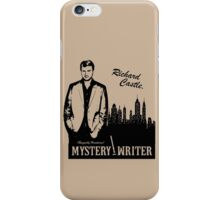 Richard Castle, Mystery Writer iPhone Case/Skin