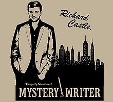 Richard Castle, Mystery Writer by LimitLyss