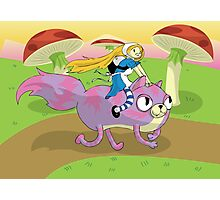 Adventure Time! with Alice and Chesh Photographic Print