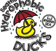 Seattle Hydrophobic Ducks by dmharada