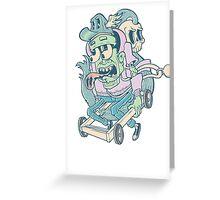 Death Race Greeting Card