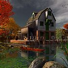 The Old Mill House by frogster
