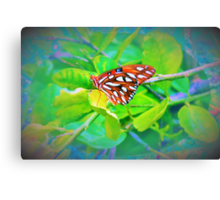 Butterfly bling Canvas Print