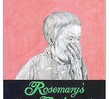 ROSEMARYS BABY hand drawn movie poster in pencil by theexiledelite