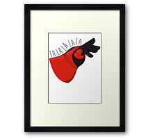 Fancy Fist Bump Framed Print