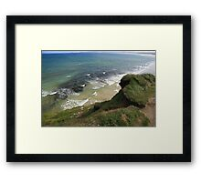 View form the Costal Path Framed Print