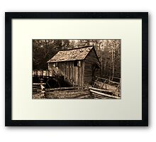 Cable Mill IV Framed Print