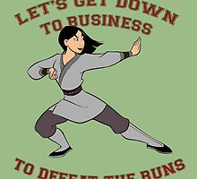 Mulan Workout by SusqueHanah