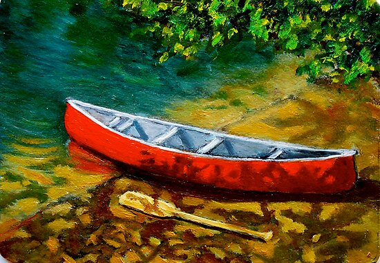 The Red Canoe by Joyce