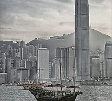 Hong Kong Harbour by sparrowhawk