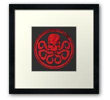 Hail Hydra! Framed Print