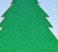 Wintery Scene Sticker