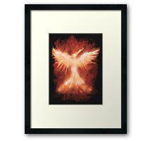 The Mocking Fire Framed Print