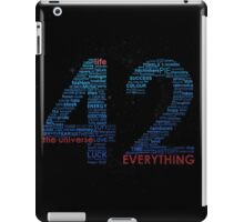 Life, The Universe, and Everything iPad Case/Skin
