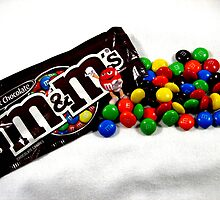 m & m's plain by Brad Sumner