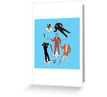 Cut It Out: Ron Burgundy Greeting Card
