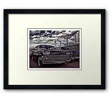 Nothin' But Sky and Chevy's Framed Print