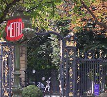 Paris Metro by SuziBryars