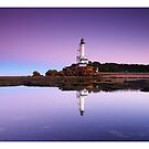 Reflections of Point Lonsdale Lighthouse by Sam Sneddon