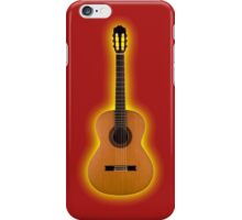 Flamenco  Guitar Classical strings  iPhone Case/Skin