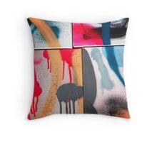 Drip Design Throw Pillow
