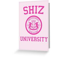 "Shiz University - Wicked ""Popular"" Version Greeting Card"