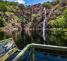 Wangi Falls Crocs by Russell Charters